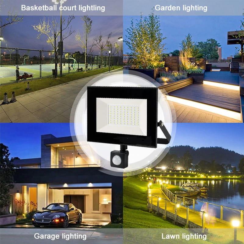 lampa zewnętrzna LED z czujnikiem ruchu